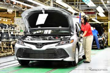 トヨタ自動車の米ケンタッキー工場