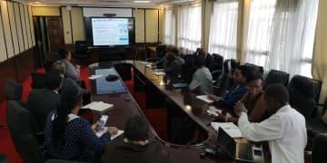 ケニア、ファーウェイ寄贈のテレビ会議システムで国際会議に参加