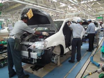 インド・カルナタカ州にあるトヨタの工場=2011年