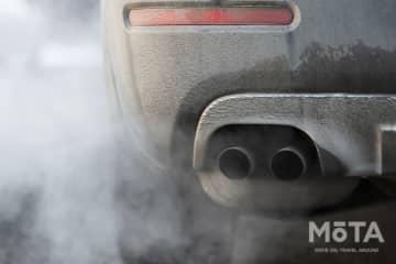 ※排気ガスのイメージ