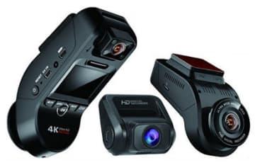 あおり運転対策や事故の記録に、3カメラ搭載したドラレコ「P3 pro」