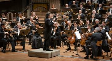 演奏するベルリン・フィルハーモニー管弦楽団(同楽団提供(C)Stephan Rabold・共同)