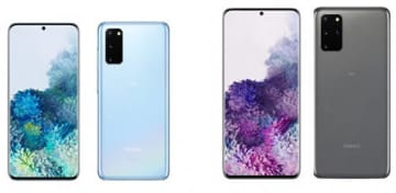 「Galaxy S20 5G」(左)と「Galaxy S20+ 5G」
