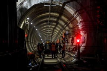 フフホト市の地下鉄建設事業、秩序よく工事を再開