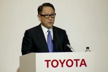 豊田社長はNTTと提携し、スマートシティ開発を進める意義を語った