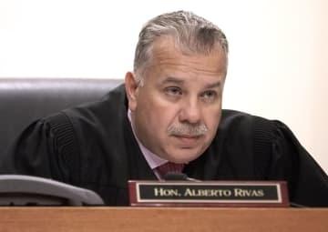 Superior Court Judge Alberto Rivas in a 2016 photo. (Patti Sapone/)