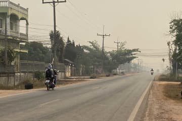 Unhealthy smog settles over Phayao and other northern provinces. (File photo)