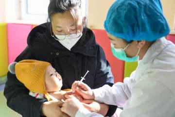 子どもの予防接種が再開 内モンゴル自治区