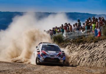 2019年WRCポルトガル戦の模様。