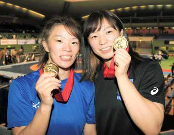 レスリング川井姉妹、五輪延期に「姉妹でのメダル獲得という目標は変わらない」