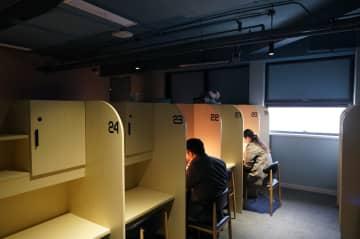 シェア自習室、利用者の安全を確保し営業再開 上海市