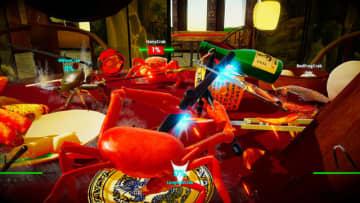 カニvsカニの海産物バトル『カニノケンカ』が2020年夏にSteamで発売決定―すべてをひっくり返しカニの覇者となれ