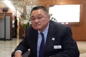 JOC山下泰裕会長=2019年1月撮影