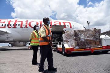 馬雲氏寄付のマスクと医療品、ケニアに到着