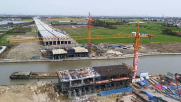「長江デルタ生態グリーン一体化発展モデル区」施工再開