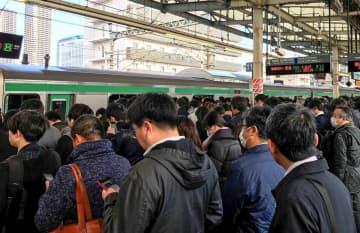 横須賀線武蔵小杉駅、新ホーム完成前倒し 22年度末ごろ