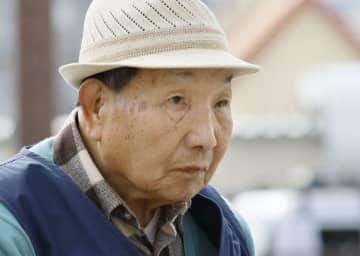 袴田巌さん=25日、浜松市
