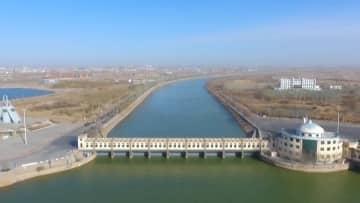 烏梁素海への緊急補水完了、黄河から2億立方メートル バヤンノール市