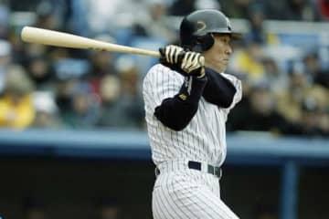 2003年にヤンキースに入団した松井秀喜【写真:Getty Images】