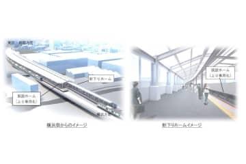 武蔵小杉駅の横須賀線ホーム、2面化へ 2022年度末から供用