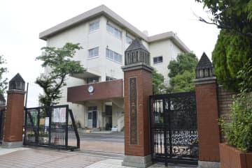 2018年8月に自殺した男子生徒が通っていた、さいたま市立南浦和中=さいたま市