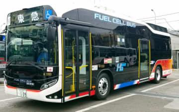 東急バス、燃料電池バス導入 東98系統・東京駅~目黒駅~等々力間で運行 画像