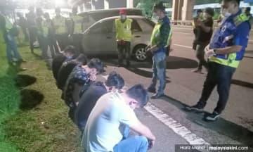 Polis cekup 8 orang langgar PKP di PJ