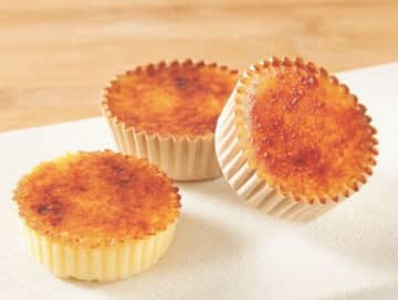 白十字が発売した「バスク風チーズケーキ」