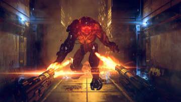 VRシューター『A-Tech Cybernetic VR』が正式リリース―銃を撃ち近接武器を振るってミュータントと戦え