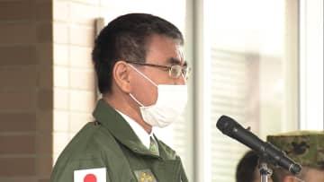 自衛隊 成田空港で検疫支援 河野防衛相「今が瀬戸際」