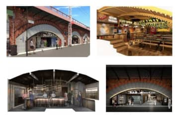 JR東海、有楽町〜新橋間の高架下にグルメスポット ラーメンバーなど6店舗