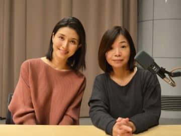 (左から)橋本マナミさん、大久保佳代子