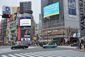 こんな東京、見たことない 外出自粛で人通り激減…戸惑う人々 画像