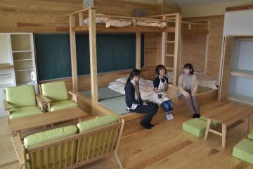 常陸太田・かなさ笑楽校 改修「大人も満足」 宿泊室やカラオケも 画像