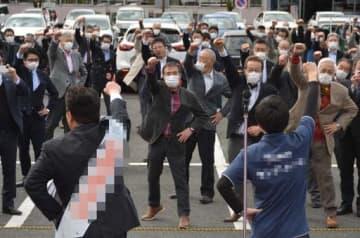 【速報】福山市議選告示 46人立候補(午前10時半現在) 画像