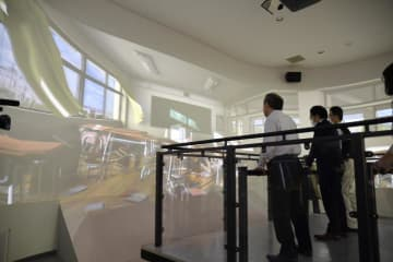 新居浜市の消防防災合同庁舎完成 災害体験コーナーも