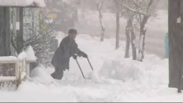 『春の雪』… 倒木の影響で「鉄道運休」「道路通行止め」 長野県内で16000戸余り「停電」