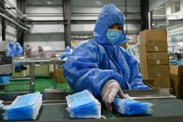 済南市の企業、衛生用品の生産急ピッチ 感染対策を後押し