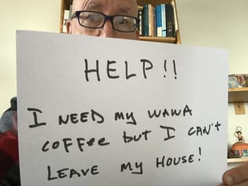 NJ.com staff writer Pete Genovese needs his Wawa. Please help. (Peter Genovese/)