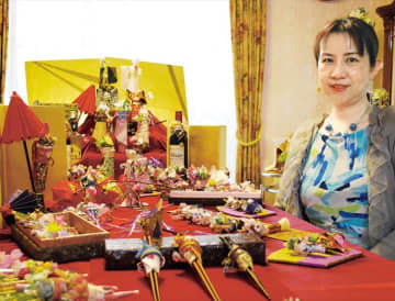 青葉区藤が丘在住・ 星野久美さん考案 「着物ドールリウム」世界へ