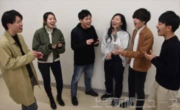 アカペラ日本一を達成したフープのメンバー