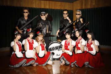 エビ中、横浜銀蝿40thとコラボ!「ツッパリ High School Rock'n Roll(バイト編)」としてカバー