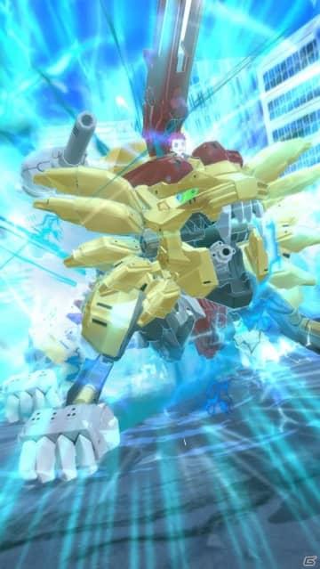 「ゾイドワイルド バトルカードハンター」にゲーム用3Dエフェクトツール「BISHAMON」が採用