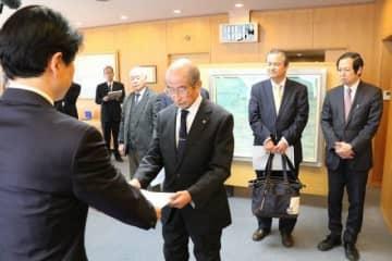 新型コロナ 宿泊業界への支援を 岡山県生活衛生組合が知事に陳情 画像