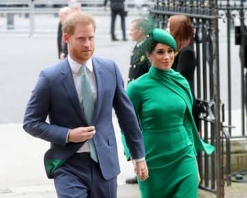 ヘンリー王子と妻のメーガン妃 - Chris Jackson / Getty Images