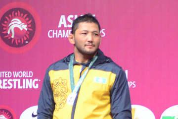 アジアのライバル、アディレト・ダブルンバエフ(カザフスタン)
