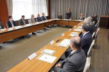 第3回岡山芸術交流に向けた準備などを協議した実行委総会