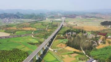安六鉄道の静的検収が開始 貴州省