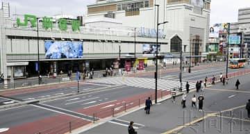 週末避免外出要求引發民眾危機感 東京站等旅客驟減