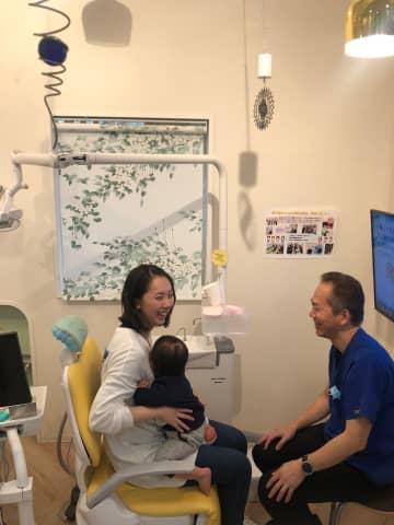 マタニティー歯科検診 は「かがやき歯科クリニック」へ